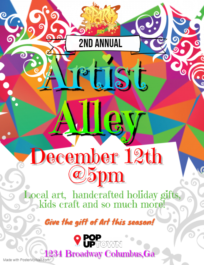 Spark Art's 2nd Annual Artist Alley