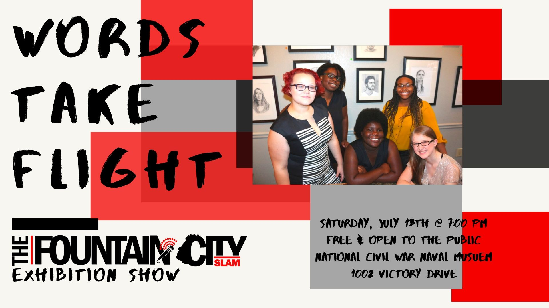 Fountain City Teen Poetry Slam Exhibition Show