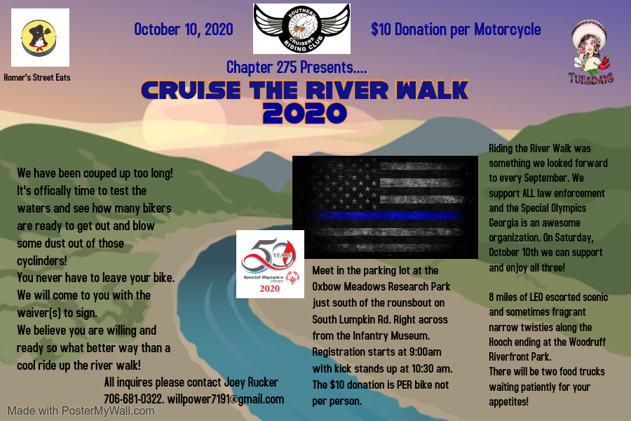 Southern Cruisers Riding Club Chapter 275 presents
