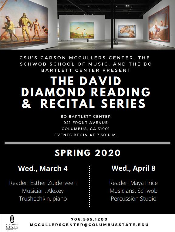 David Diamond Reading & Recital