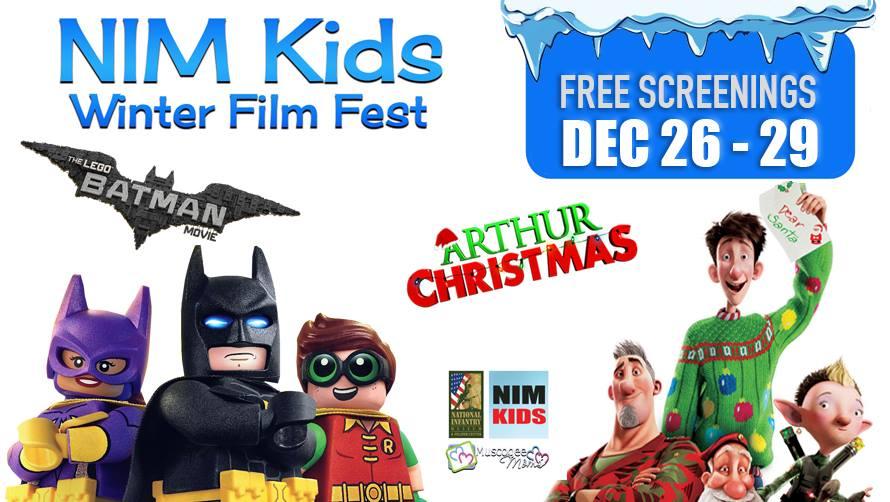 NIM Kid's FREE Winter Film Fest