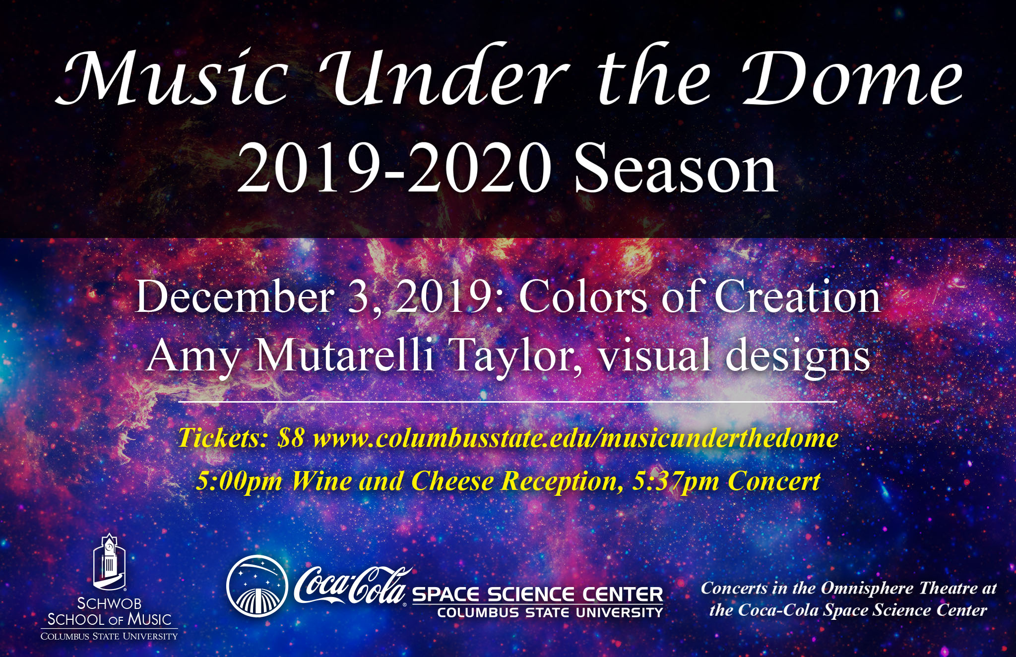 Music Under the Dome: Colors of Creation