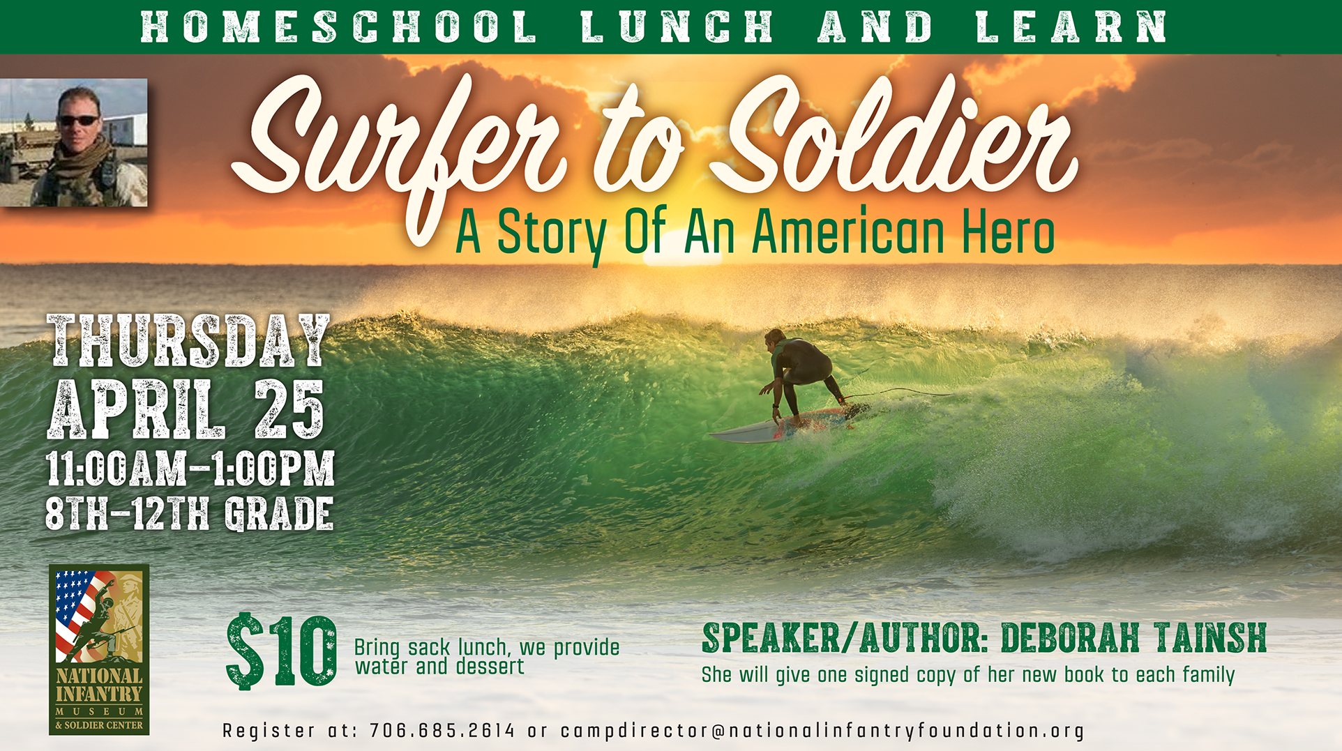 Surfer to Soldier: A Story Of An American Hero
