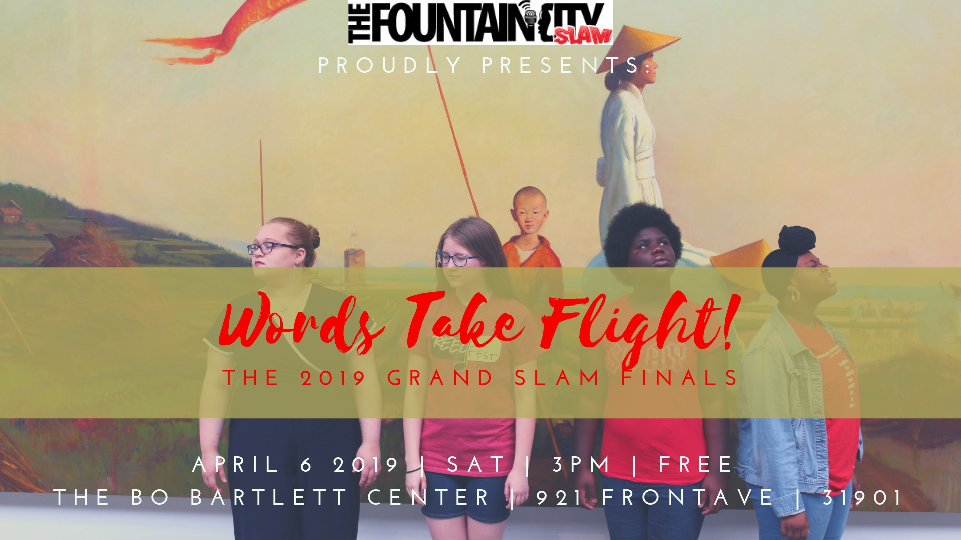 Words Take Flight: Fountain City Teen Poetry Slam Finals!