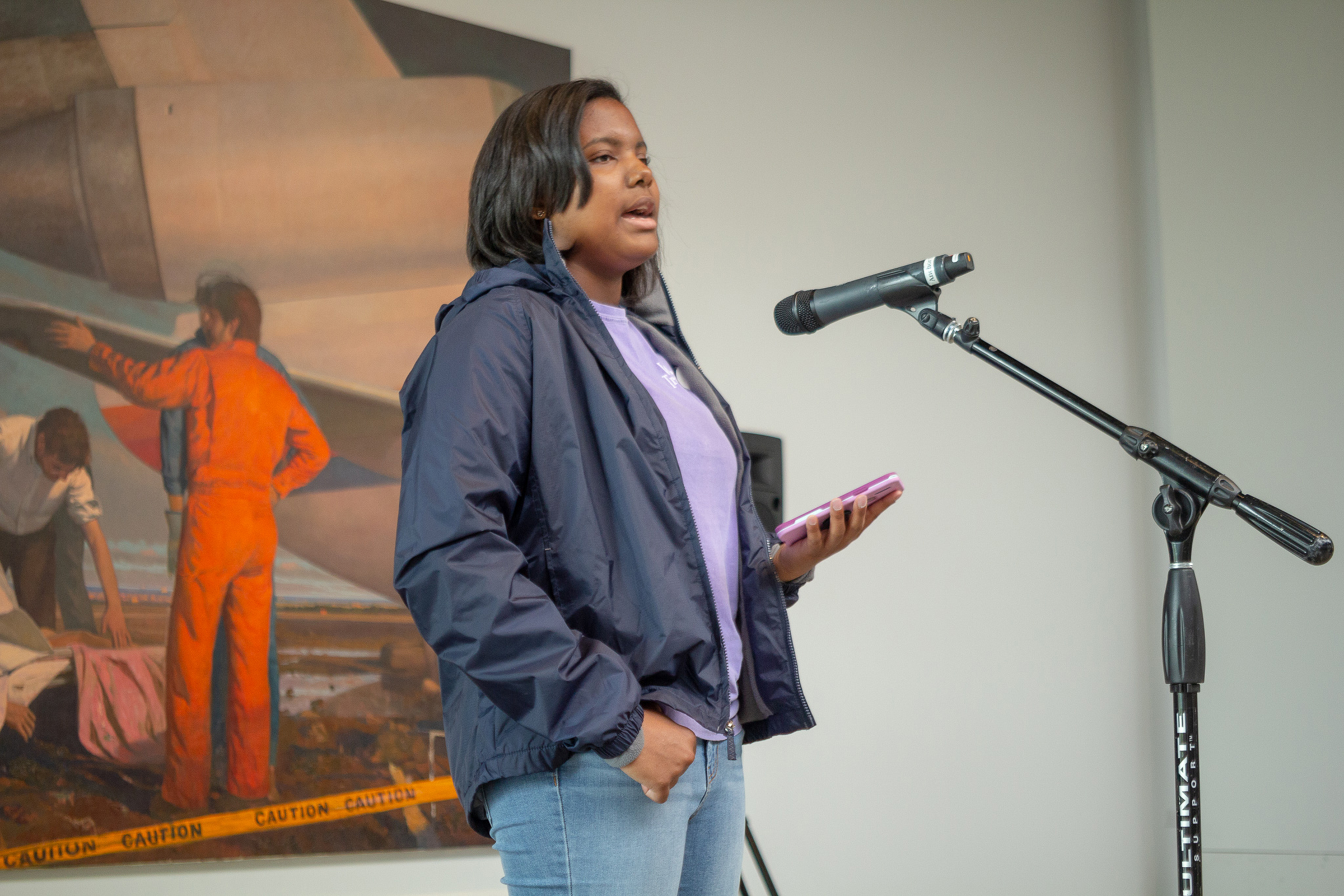 January Youth Open Mic