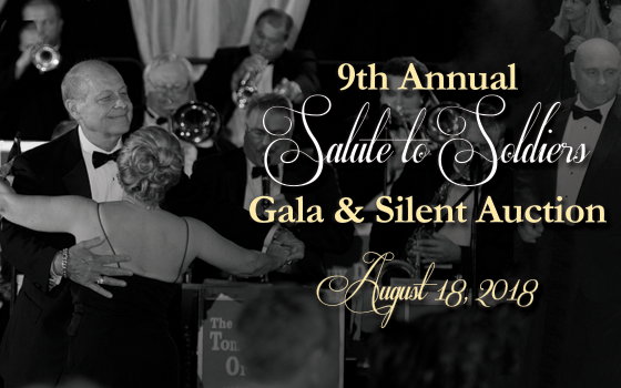 The ninth annual Salute to Soldiers Gala and Silent Auction