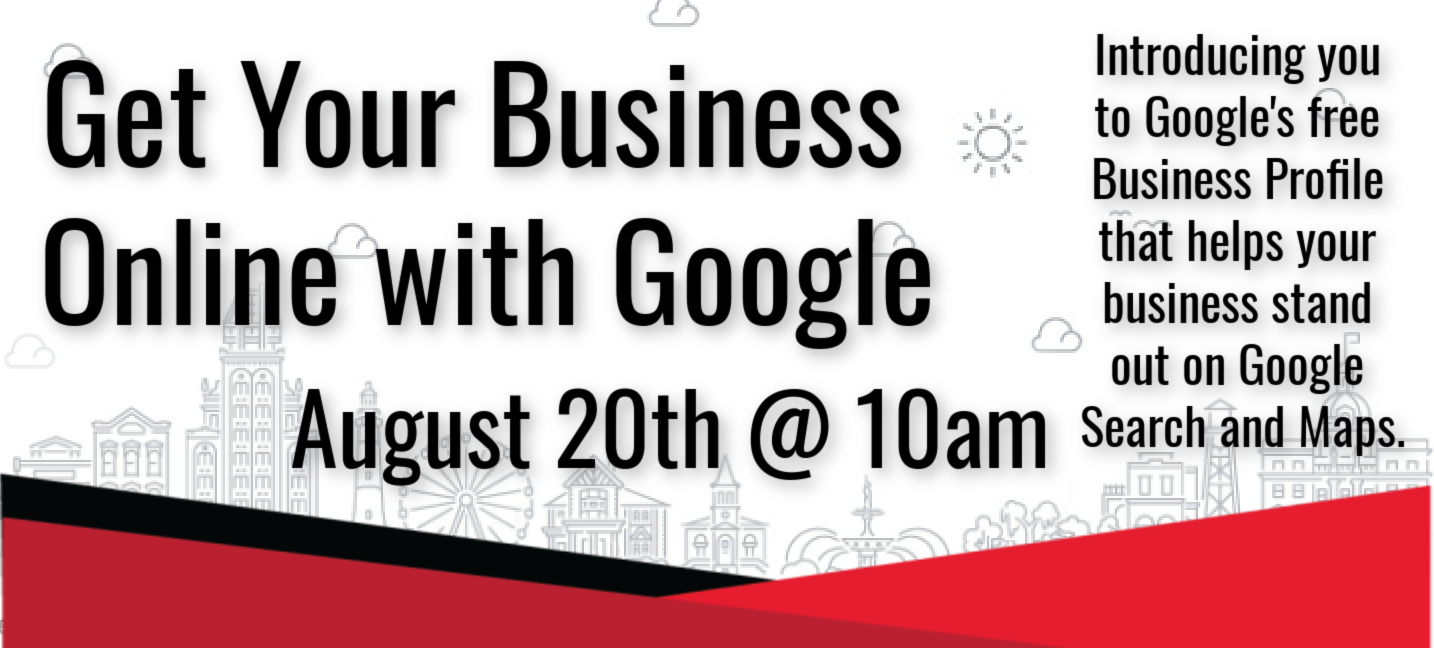 Get Your Business Online with Google Webinar