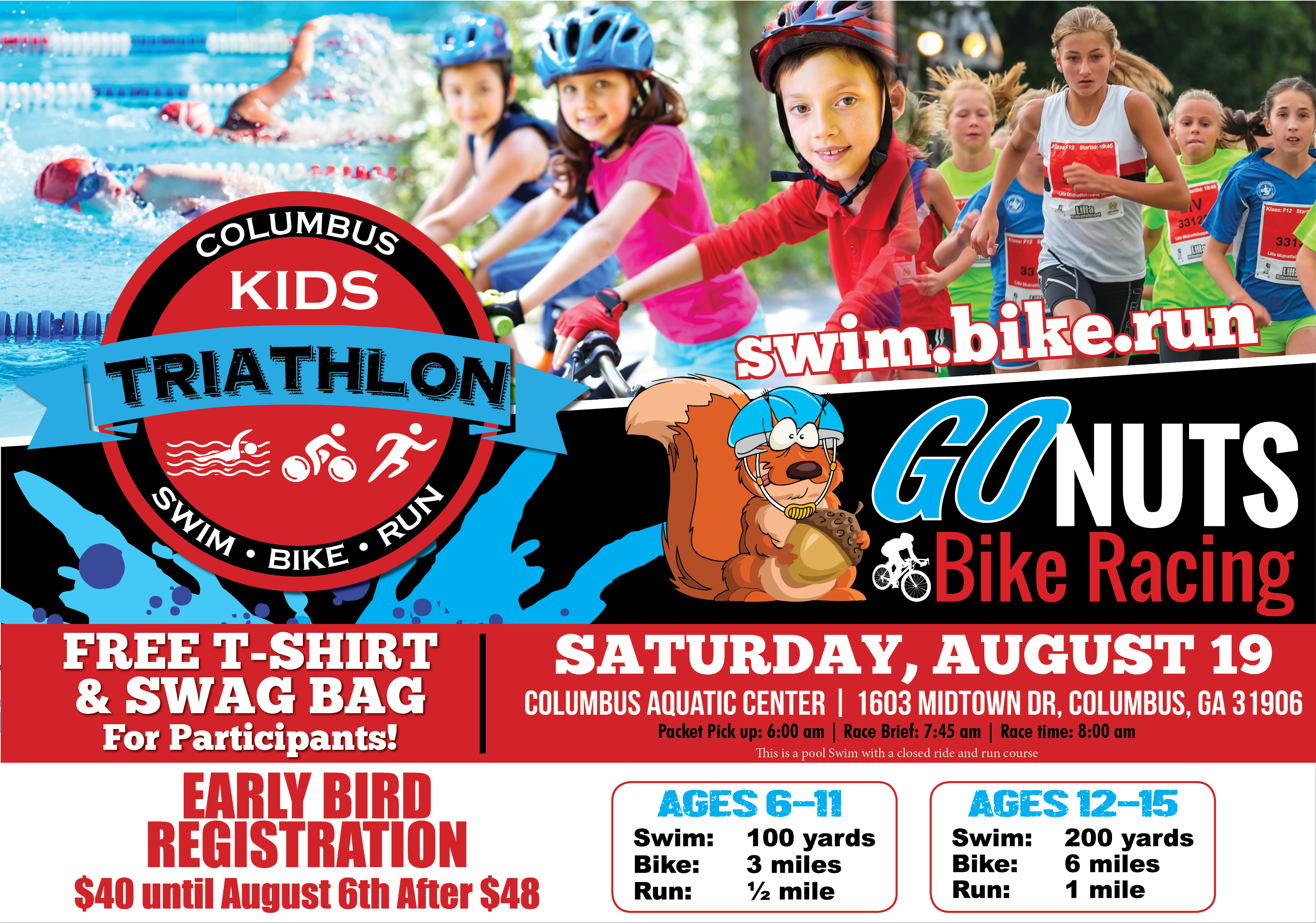 Go Nuts Columbus Kids Triathlon