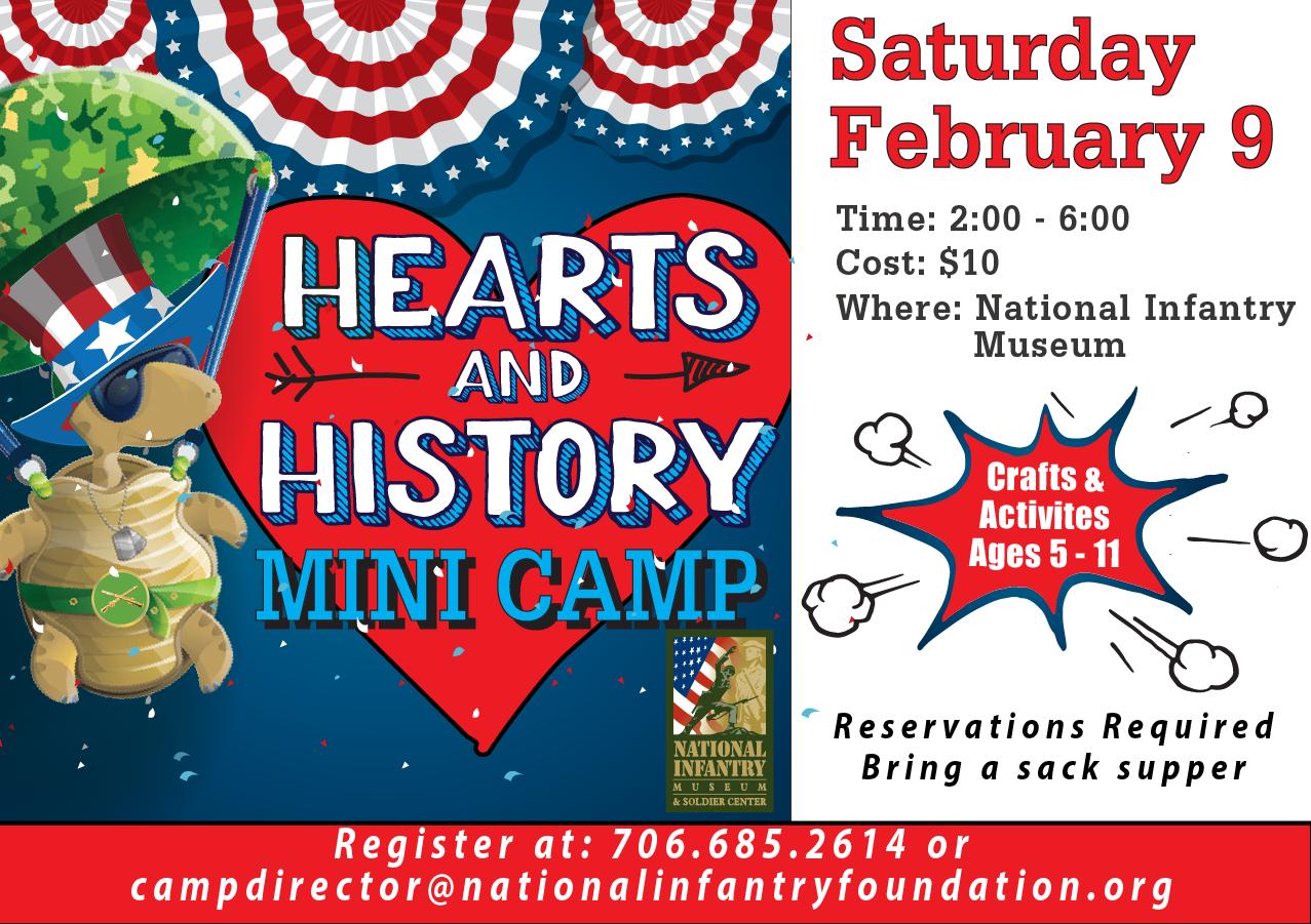 Hearts & History Mini Camp