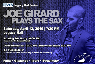 Joe Girard Plays the Sax