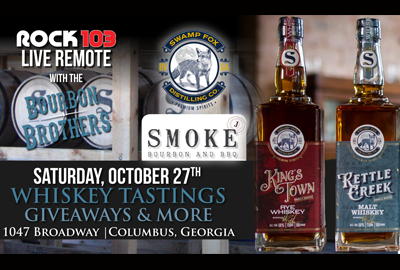 Live Remote and Tasting at Smoke Bourbon & BBQ