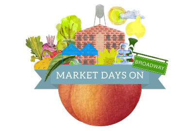 Market Days on Broadway in Uptown Columbus