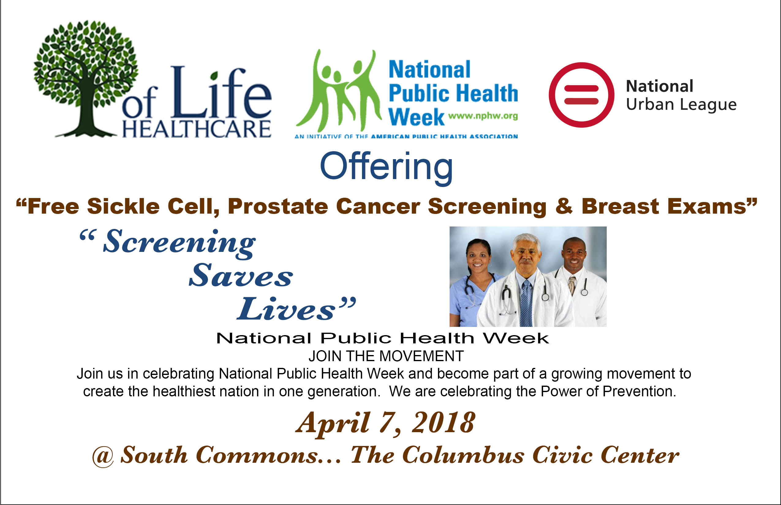 Tree of Life Health Fair