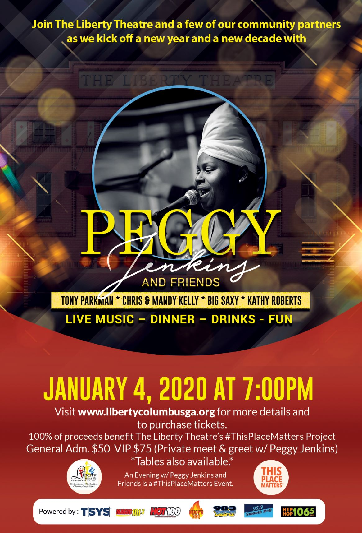 An Evening With Peggy Jenkins & Friends