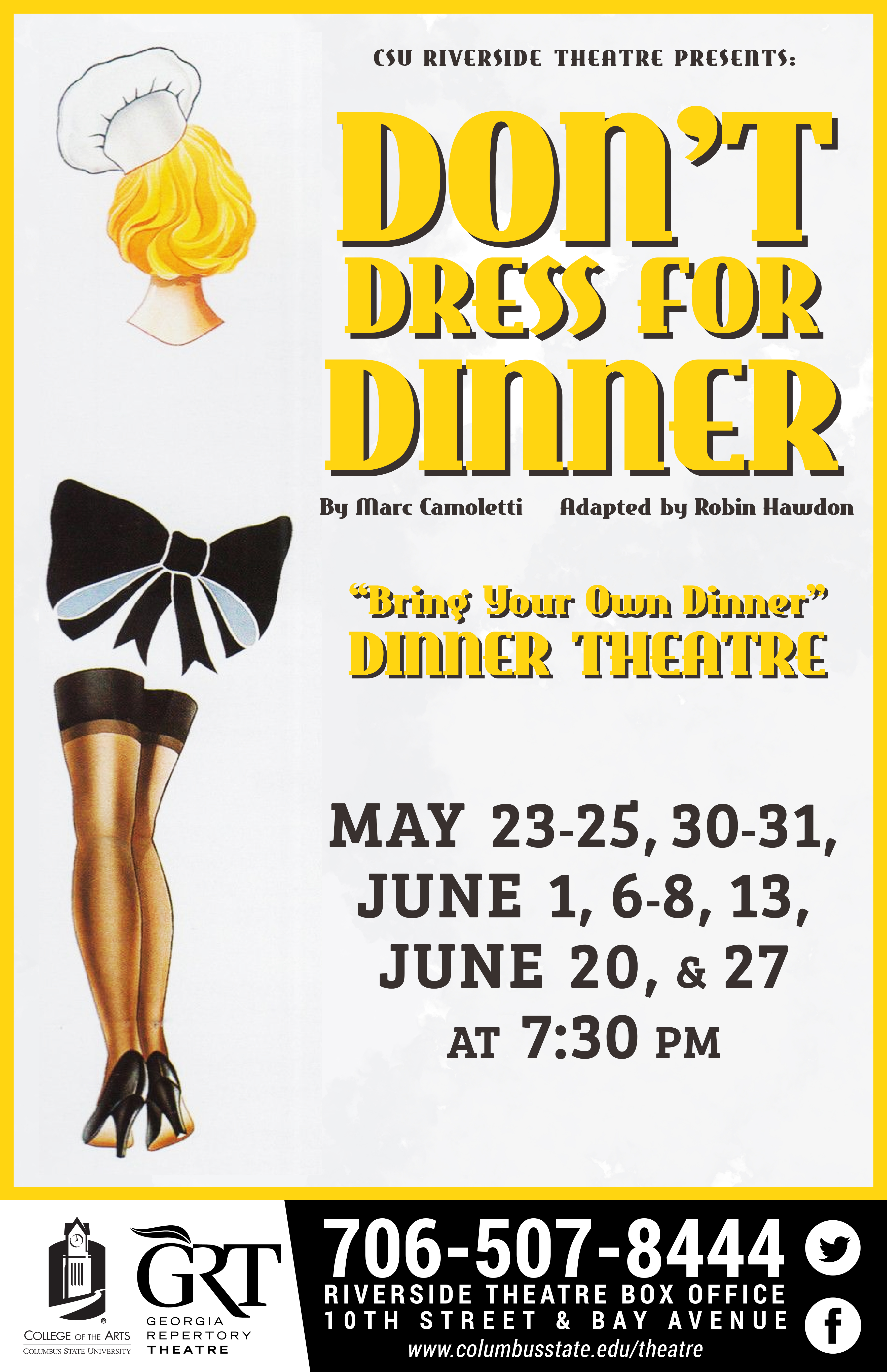 CSU Theatre: Don't Dress for Dinner