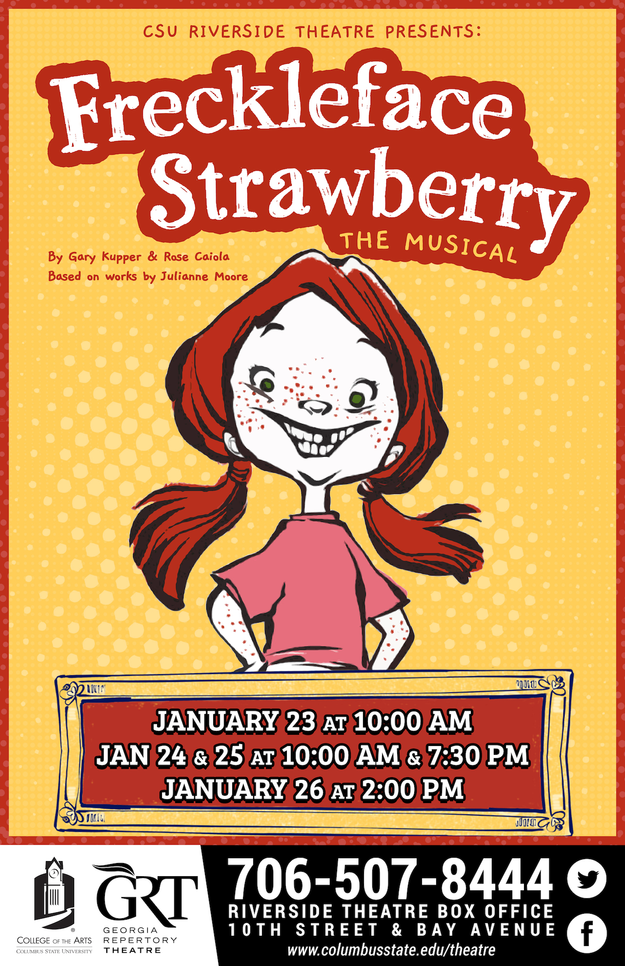 CSU Theatre: Freckleface Strawberry!