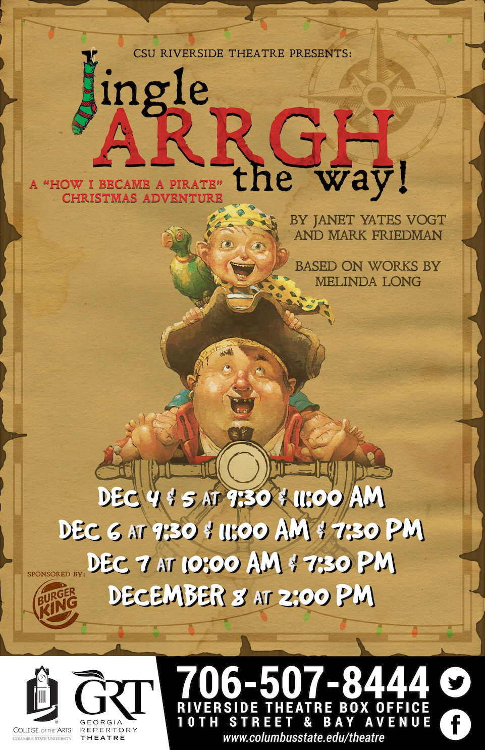 CSU Theatre: Jingle ARRGH the Way!!