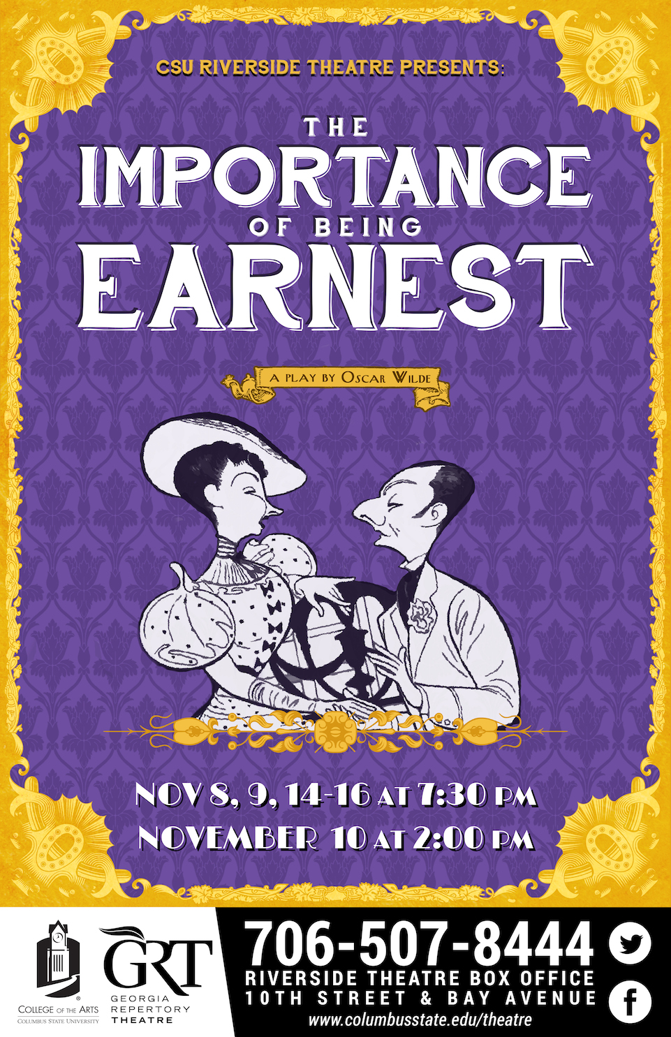 CSU Theatre: The Importance of Being Earnest