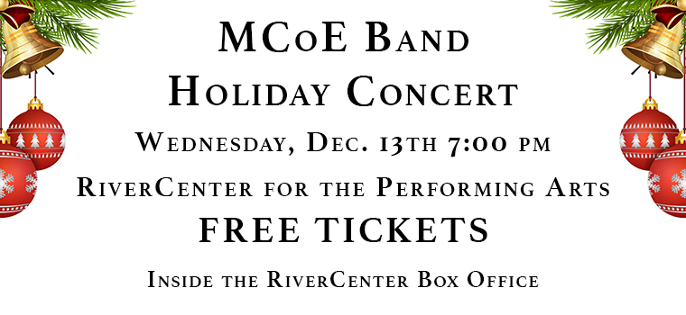MCoE Band Holiday Concert