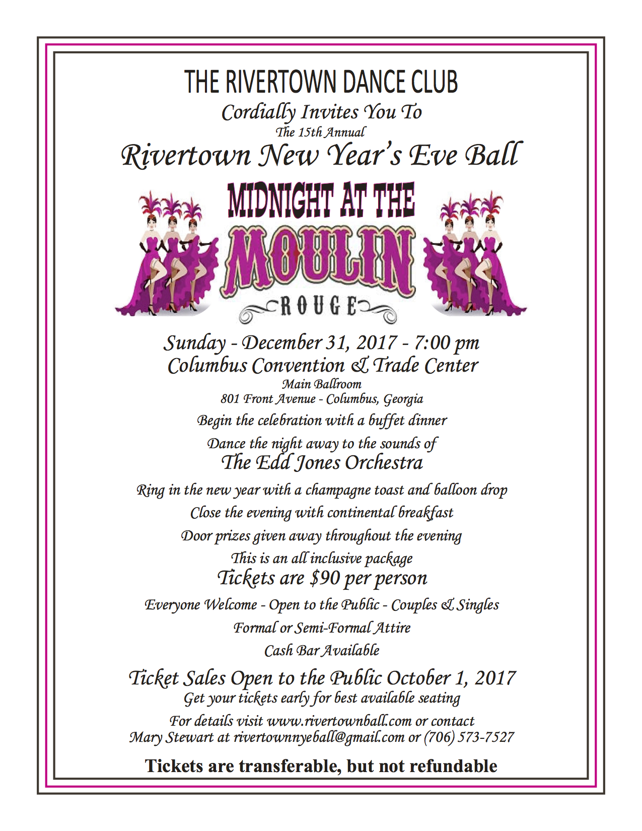 Rivertown New Year's Eve Ball