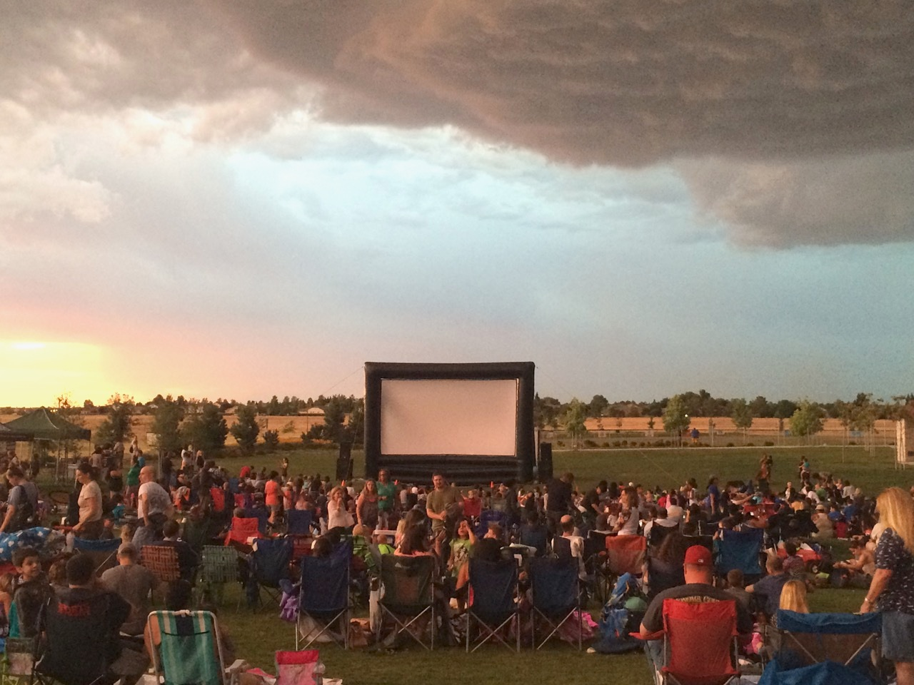 Navy Federal Credit Union: Movie Night Under the Stars