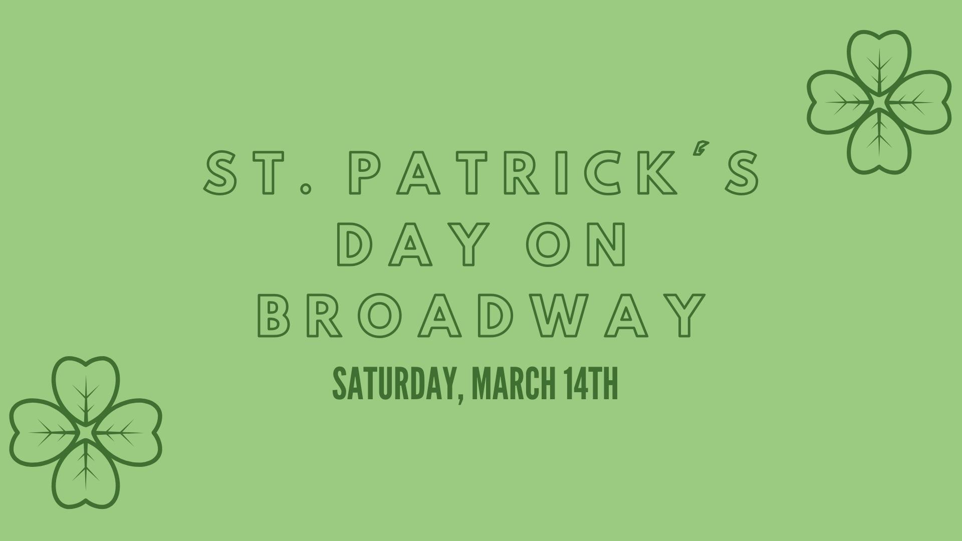 St. Patrick's Day on Broadway