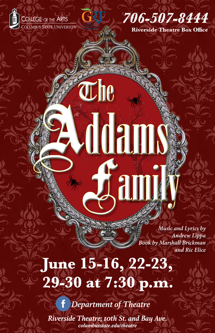 Georgia Repertory Theatre: The Addams Family Musical