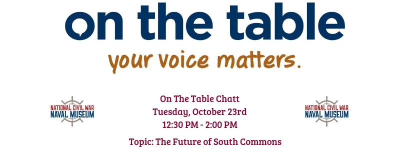 On The Table Chatt: The Future of South Commons