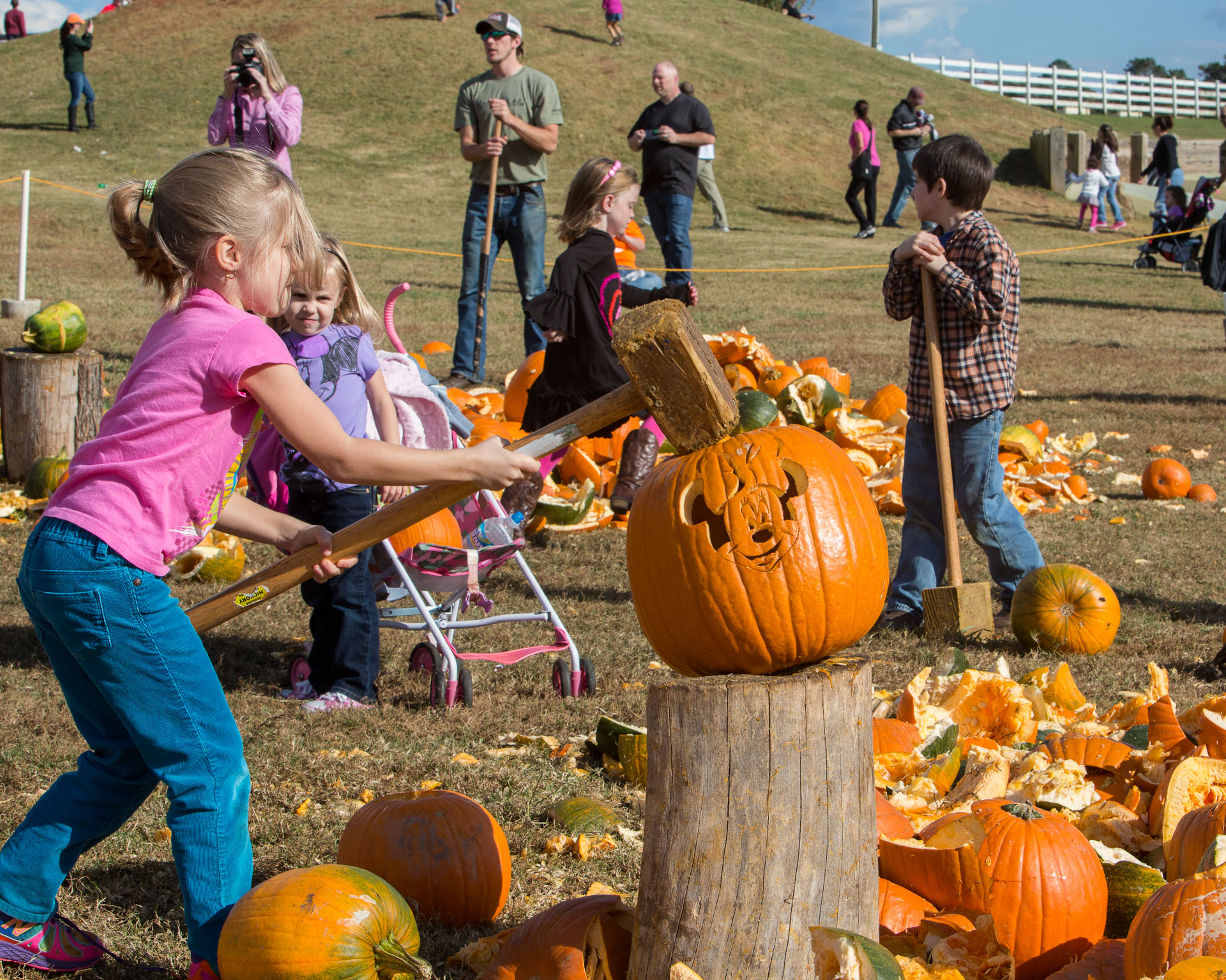 National Pumpkin Destruction Day & Monster Trucks - Fall Family Fun Days at The Rock Ranch