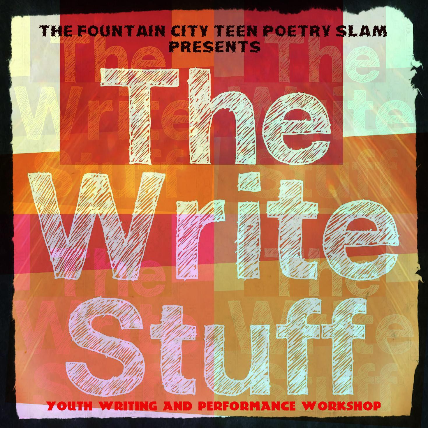 FC Slam Pizza & Poetry Teen Workshop