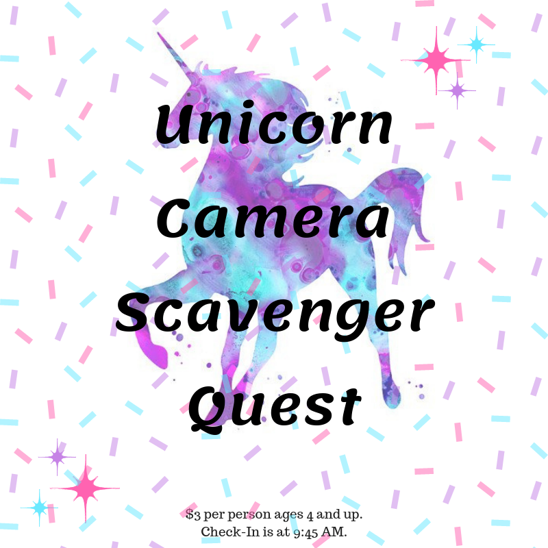 Unicorn Camera Scavenger Quest