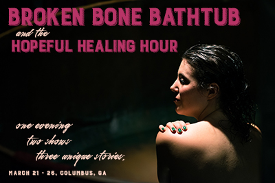 Broken Bone Bathtub and the Hopeful Healing Hour
