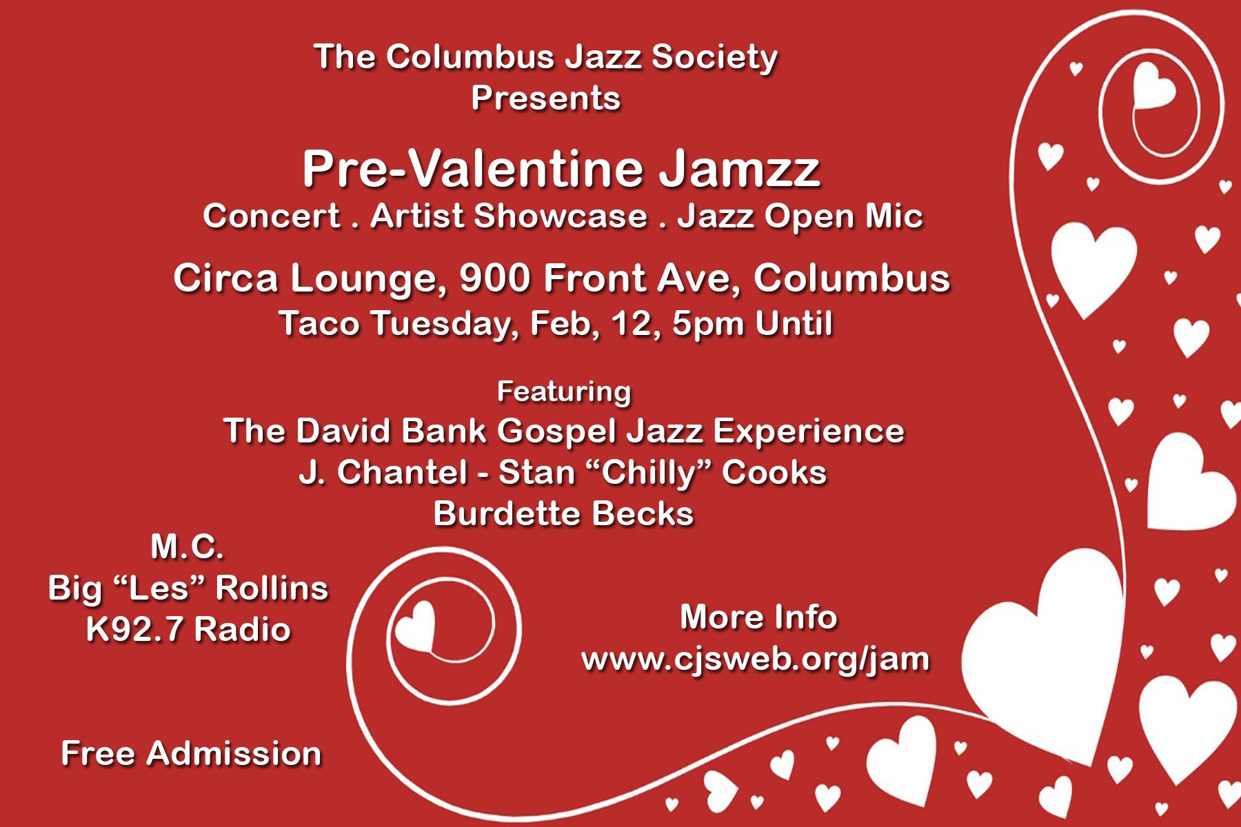 Pre-Valentine Jazz Jam