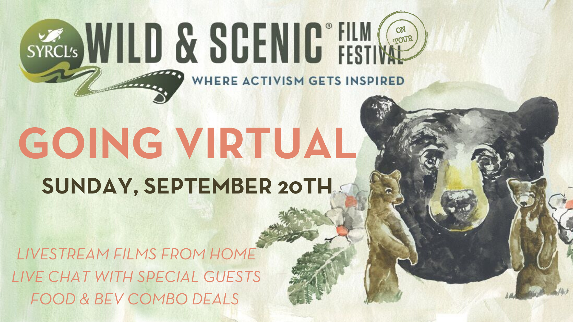 Columbus GA Wild and Scenic Film Festival On Tour Goes VIRTUAL