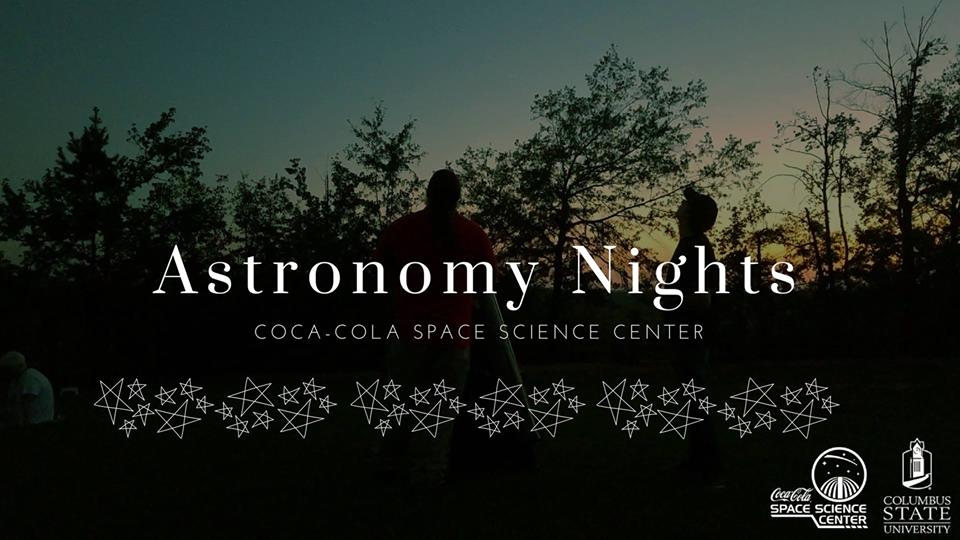Astronomy Night at the Coca-Cola Space Science Center!