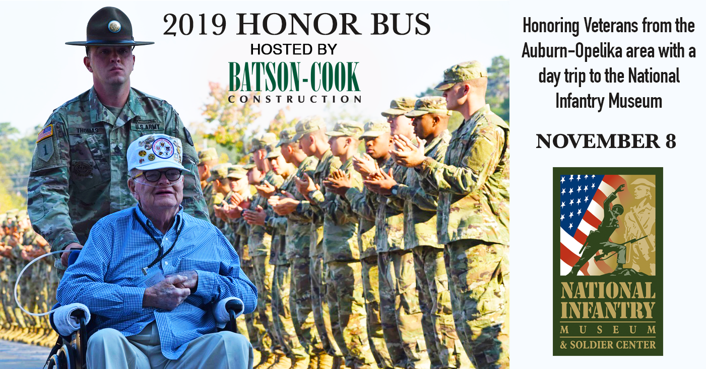 2019 Honor Bus For Veterans hosted by Batson-Cook Construction