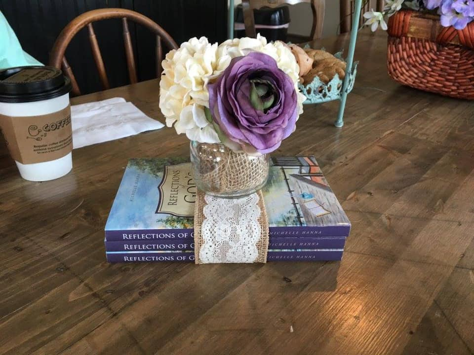 Book signing! Reflections Of Gods Grace by Michelle Hanna