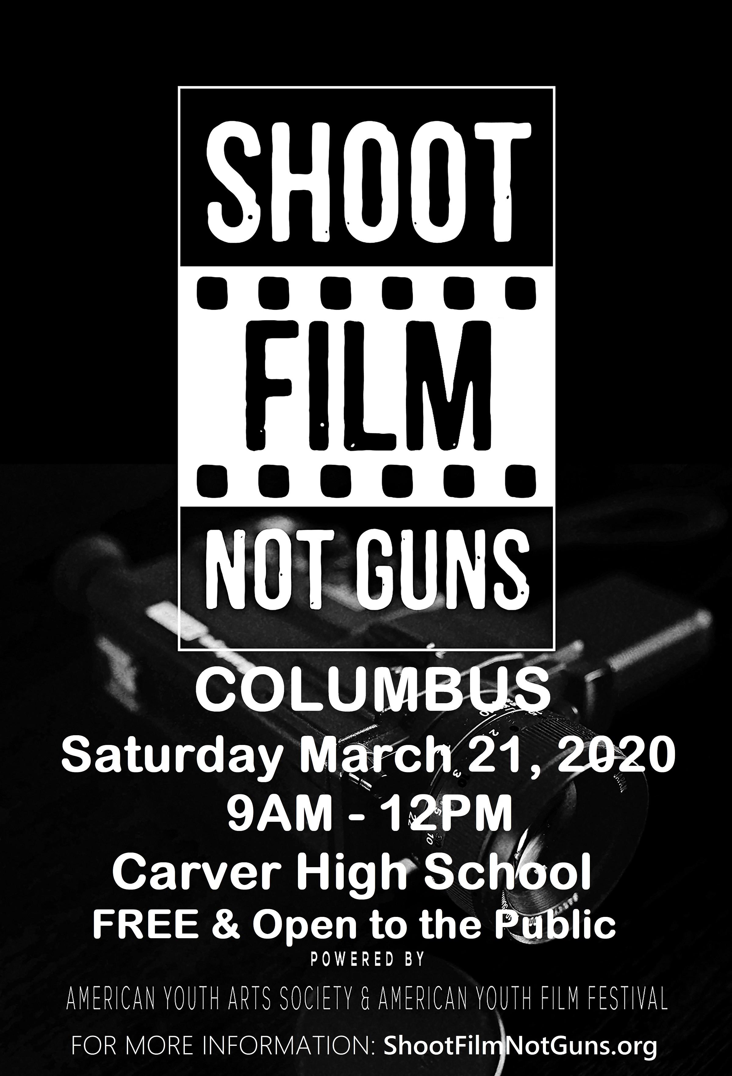 The Shoot Film Not Guns Anti-bullying/Stop the Violence Initiative
