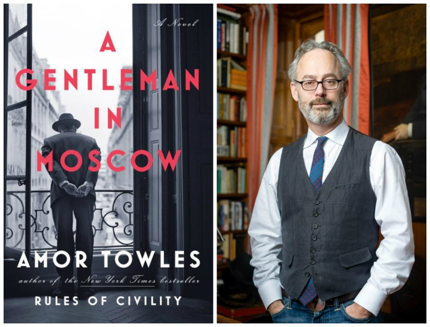 Author Event: Amor Towles