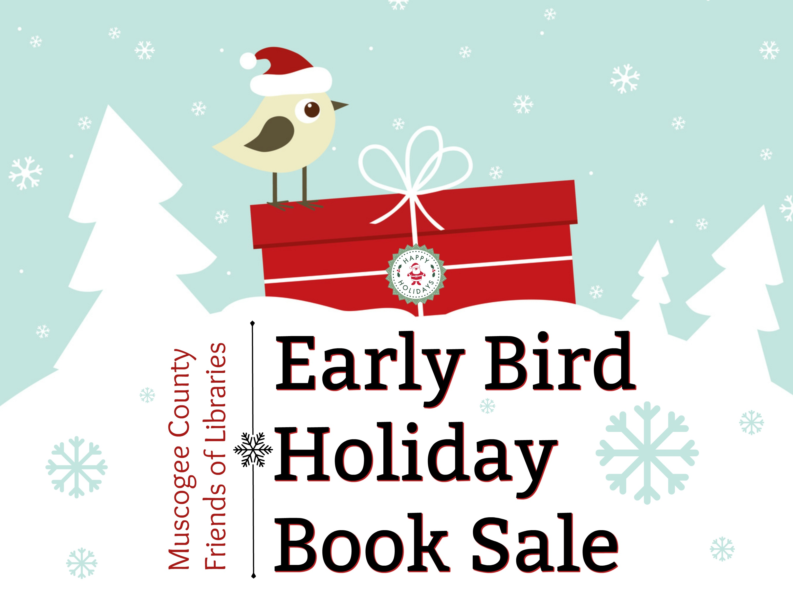 Friends of Libraries Christmas/Holiday Book Sale