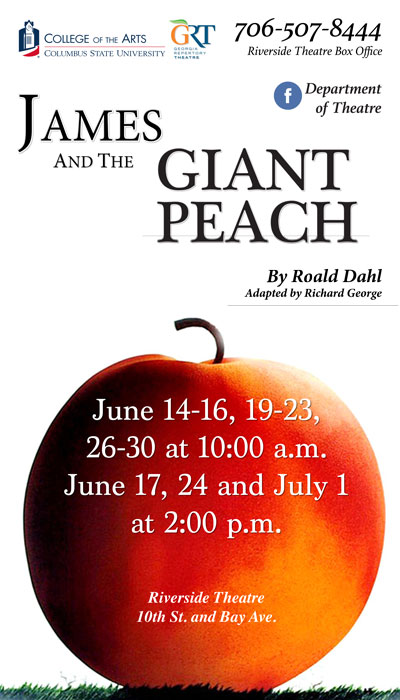 Georgia Repertory Theatre: James and the Giant Peach
