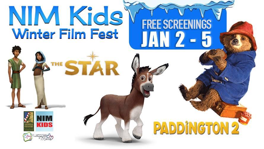 NIM Kid's FREE Winter Film Fest!