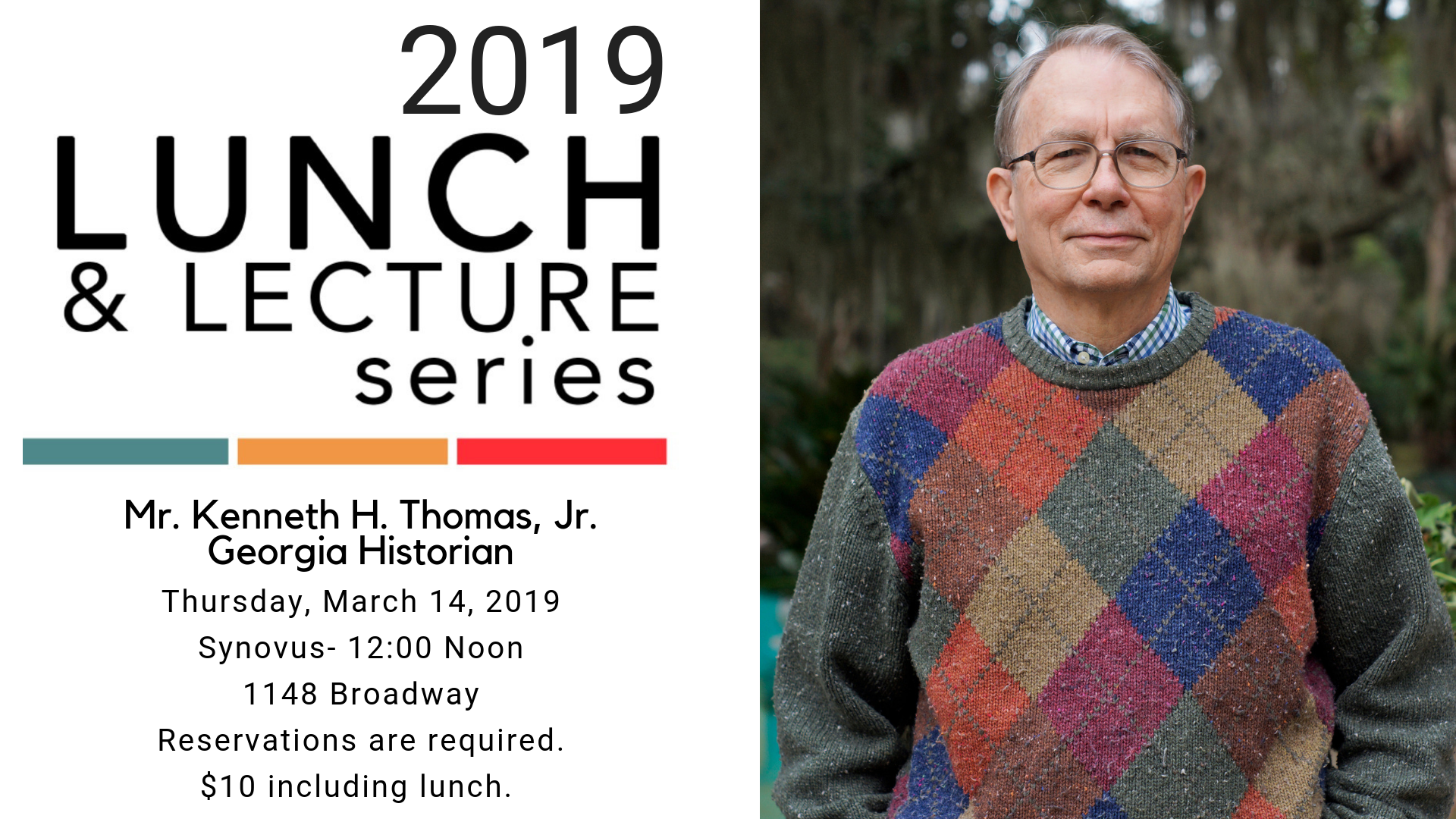 Lunch and Lecture with Ken Thomas