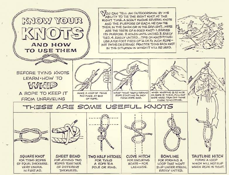 CLINIC SERIES - ALL ABOUT KNOTS