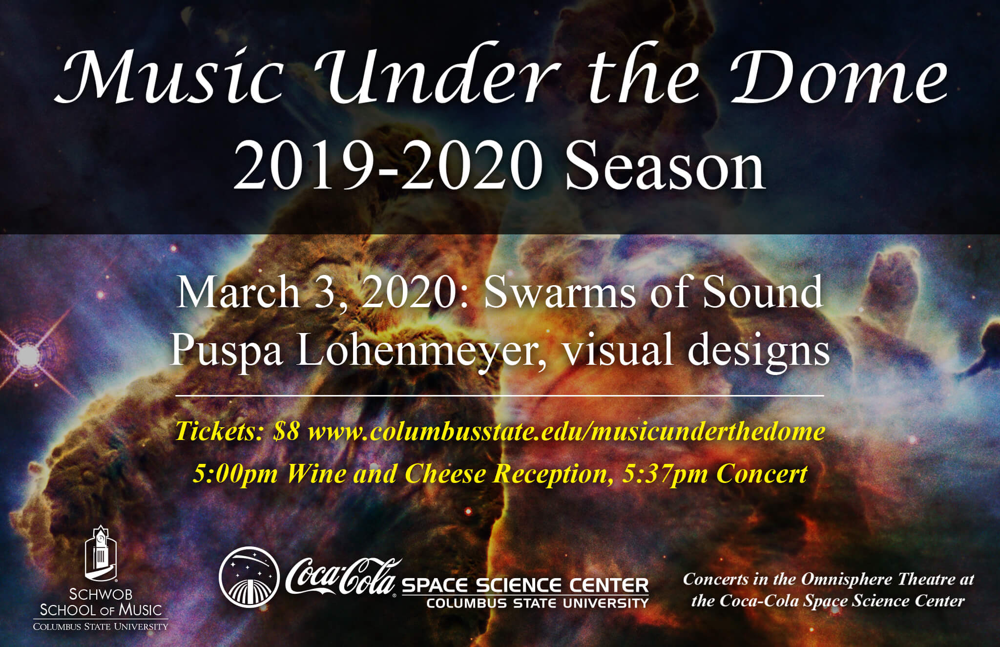 Music Under The Dome: Swarms of Sound