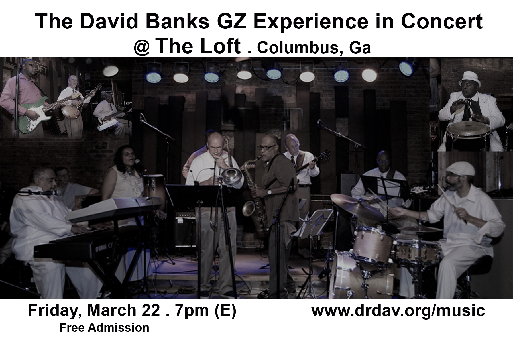 Friday Jazz At The Loft Uptown Visit Columbus Ga