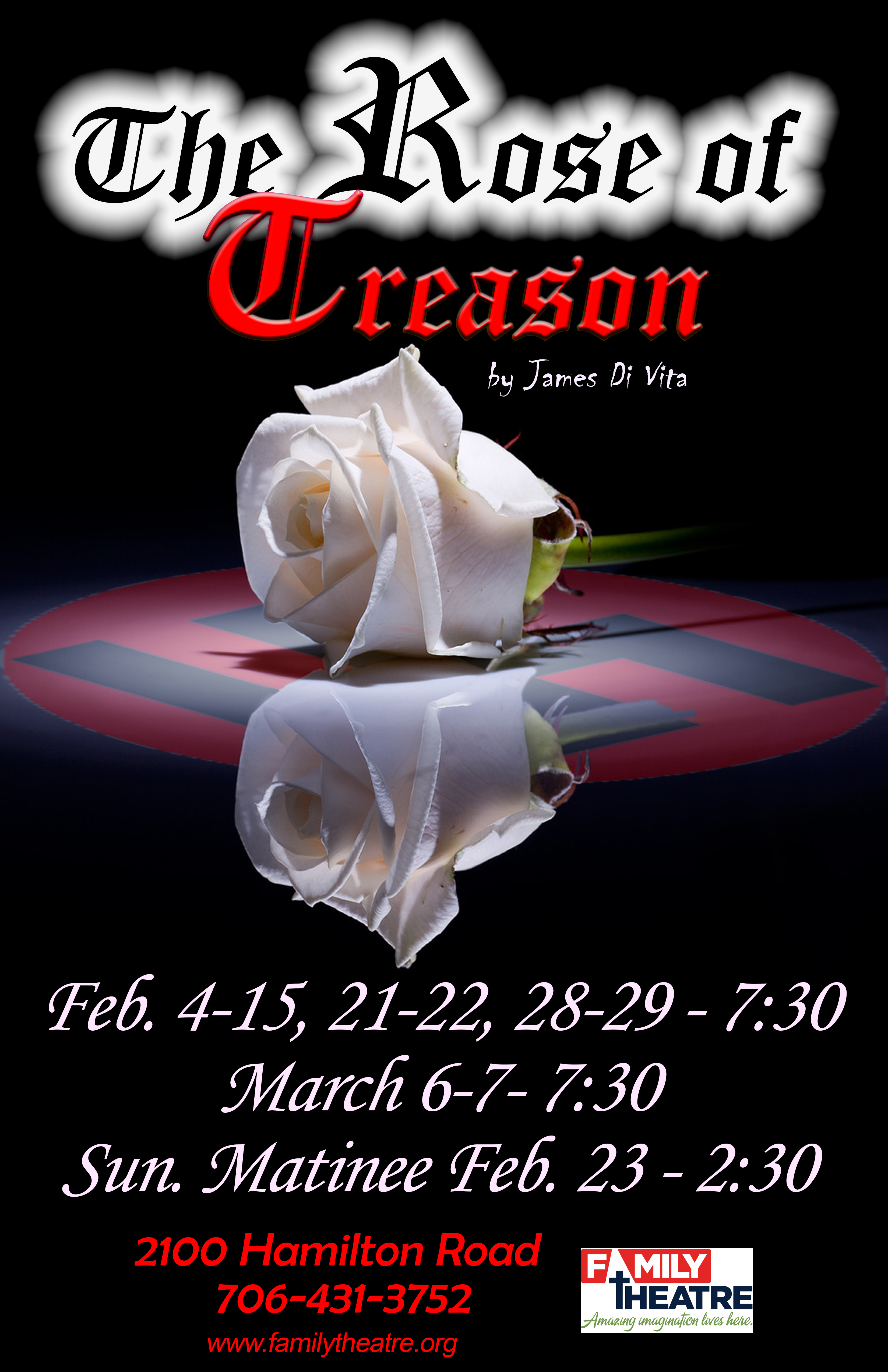 Family Theatre presents The Rose of Treason