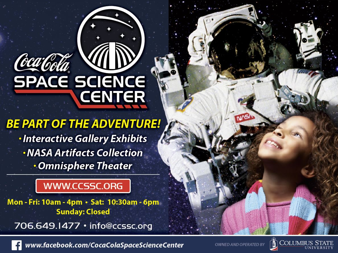 Saturdays at the Coca-Cola Space Science Center!