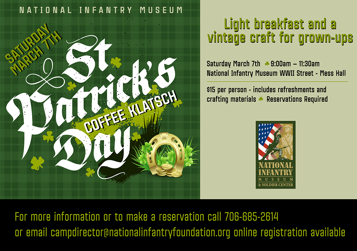 St. Patrick's Day Coffee Klatsch