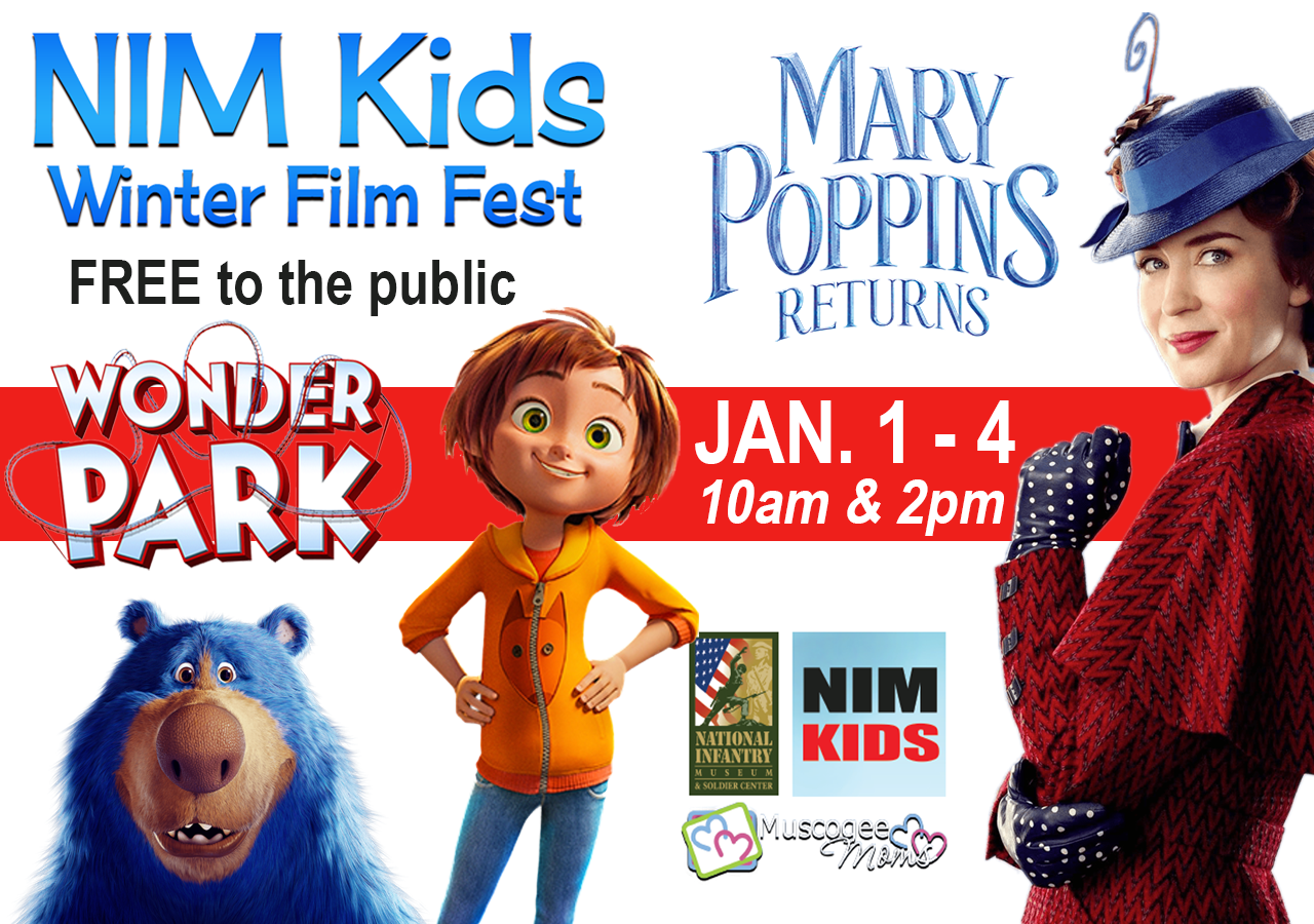 Nim Kids Free Winter Film Fest - Week 2